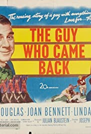 The Guy Who Came Back Poster