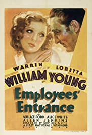 Employees' Entrance(1933) Poster - Movie Forum, Cast, Reviews