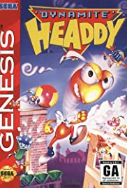 Dynamite Headdy Poster