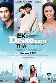 Ekk Deewana Tha(2012) Poster - Movie Forum, Cast, Reviews