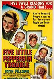 Five Little Peppers in Trouble Poster