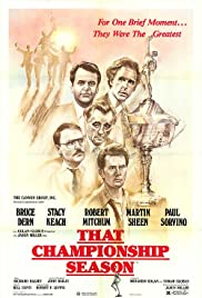 That Championship Season (1982) Poster - Movie Forum, Cast, Reviews