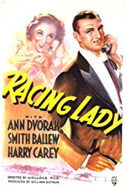 Racing Lady Poster