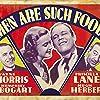 Humphrey Bogart, Hugh Herbert, Priscilla Lane, and Wayne Morris in Men Are Such Fools (1938)