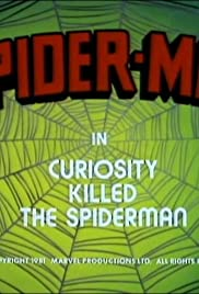 Curiosity Killed the Spider-Man Poster