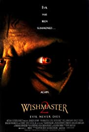 Wishmaster 2: Evil Never Dies (1999) Poster - Movie Forum, Cast, Reviews