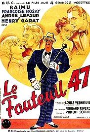 Le fauteuil 47 Poster