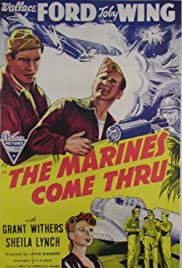 The Marines Come Thru Poster