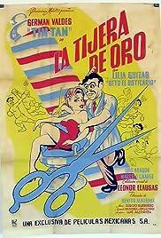 La tijera de oro Poster