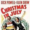 Ellen Drew and Dick Powell in Christmas in July (1940)