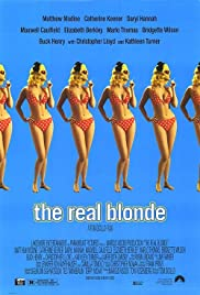 The Real Blonde (1997) Poster - Movie Forum, Cast, Reviews
