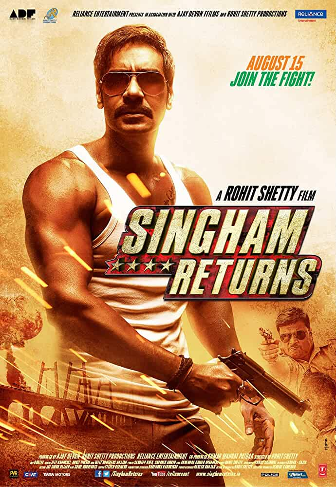 Singham Returns 2014 Hindi Movie 480p BluRay full movie watch online freee download at movies365.cc