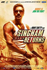 Singham Returns (2014) Poster - Movie Forum, Cast, Reviews