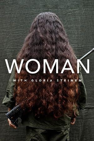 Woman with Gloria Steinem