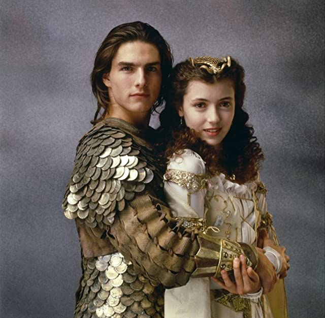 Tom Cruise and Mia Sara in Legend (1985)