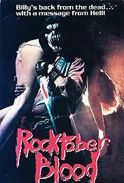 Rocktober Blood(1984) Poster - Movie Forum, Cast, Reviews
