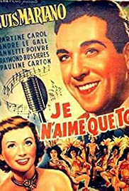 Je n'aime que toi... Poster