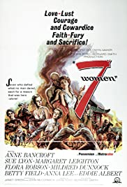 7 Women (1966) Poster - Movie Forum, Cast, Reviews