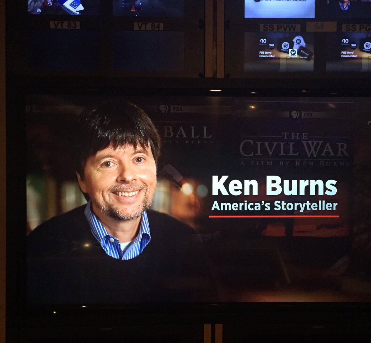 Ken Burns: America's Storyteller (2017) (TV) Watch Full Movie Free Online