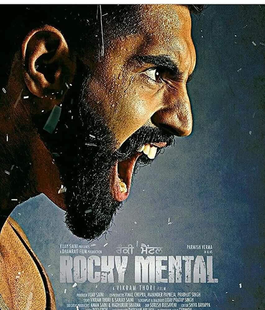 Rocky Mental 2017 Full Punjabi Movie Download 480p HDRip 350MB