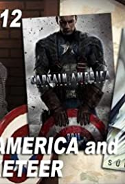 Captain America and The Rocketeer Poster