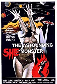 The Astounding She-Monster Poster