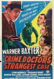 The Crime Doctor's Strangest Case (1943) Poster - Movie Forum, Cast, Reviews