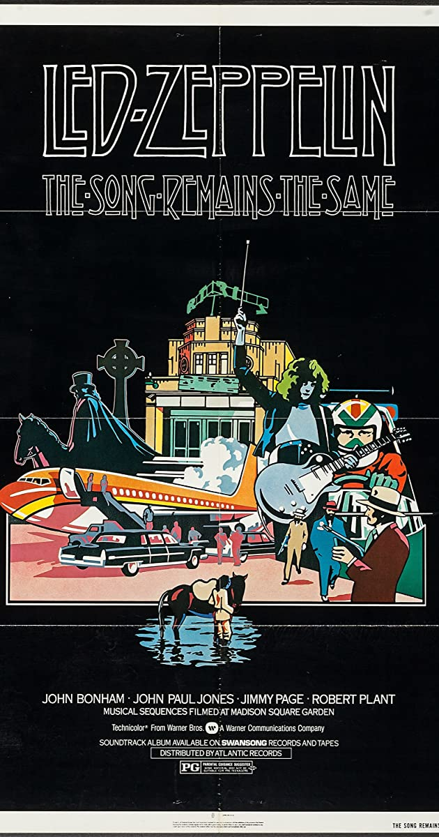The Song Remains The Same 1976 Imdb