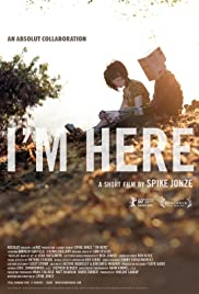 I'm Here (2010) Poster - Movie Forum, Cast, Reviews
