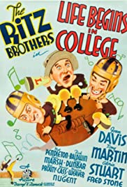 Life Begins at College Poster