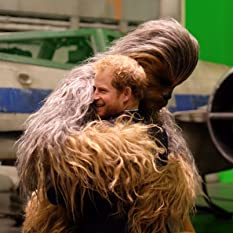 Chewbacca meets Prince Harry