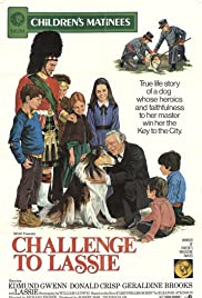 Challenge to Lassie Poster