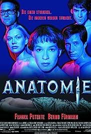 Anatomie(2000) Poster - Movie Forum, Cast, Reviews
