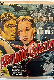 Abismos de pasión Poster