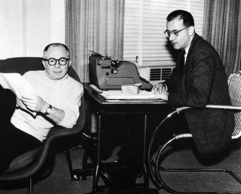 At A Certain Cinema: Billy Wilder and I.A.L. Diamond at work on the screenplay for Irma la Douce