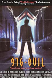 976-EVIL (1988) Poster - Movie Forum, Cast, Reviews