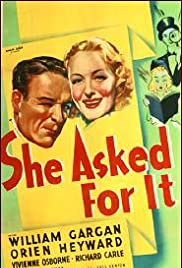 She Asked for It Poster