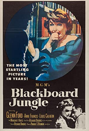 Blackboard Jungle poster