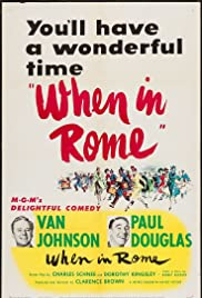 When in Rome (1952) Poster - Movie Forum, Cast, Reviews