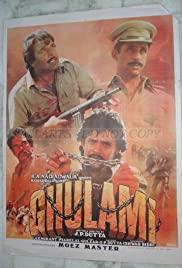 Ghulami (1985) Poster - Movie Forum, Cast, Reviews