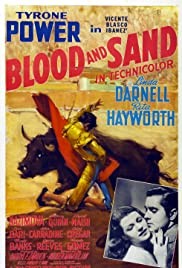 Blood and Sand (1941) Poster - Movie Forum, Cast, Reviews