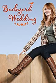 Backyard Wedding Poster