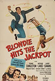Blondie Hits the Jackpot (1949) Poster - Movie Forum, Cast, Reviews