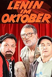 Lenin in October Poster