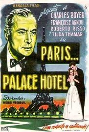 Paris, Palace Hôtel Poster