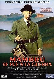 Mambrú se fue a la guerra Poster