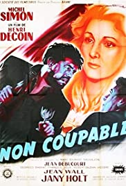 Non coupable Poster