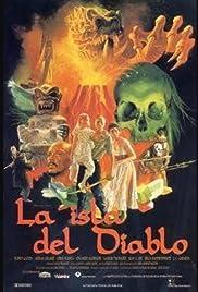 La isla del diablo Poster