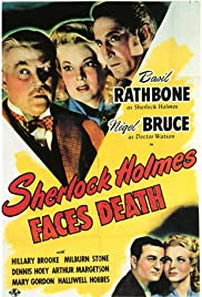 Sherlock Holmes Faces Death (1943) Poster - Movie Forum, Cast, Reviews