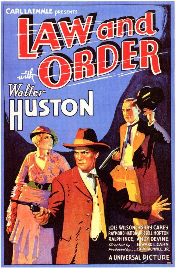 Law and Order (1932 film) httpsimagesnasslimagesamazoncomimagesMM